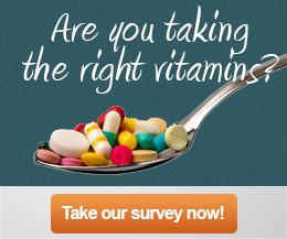 Take a Vitamin Survey & Get Answers