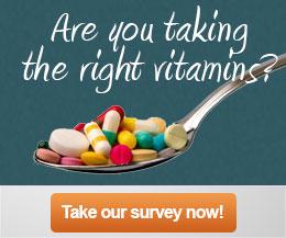 Take a Vitamin Survey & Get Answers